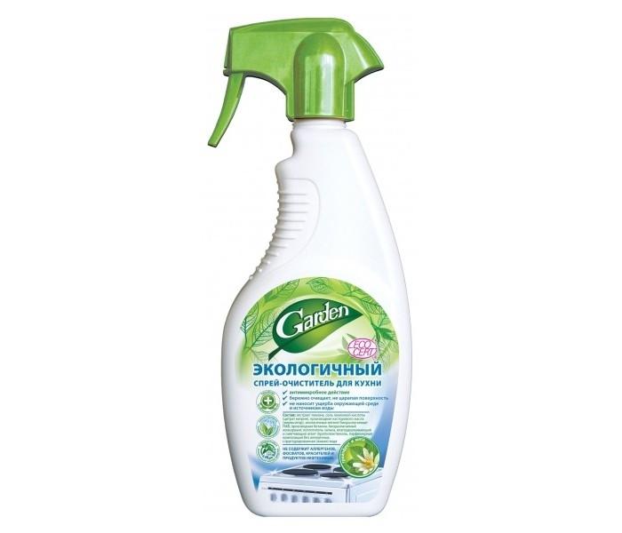 Детские моющие средства Garden Экологичный спрей-очиститель для кухни Грейпфрут и мята 500 мл