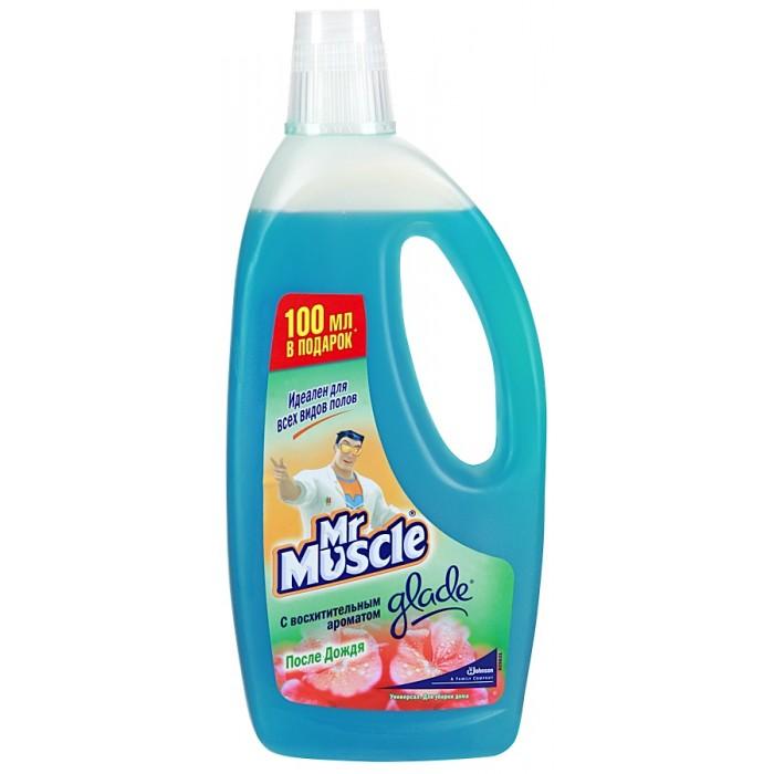 Бытовая химия Mr Muscle Универсал Цветочное совершенство для мытья пола и других поверхностей 500 мл herbal muscle