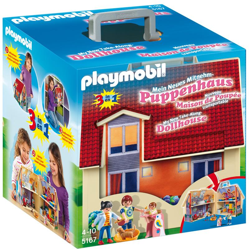 Конструкторы Playmobil Возьми с собой Кукольный дом конструкторы playmobil кукольный дом романтическая ванная комната