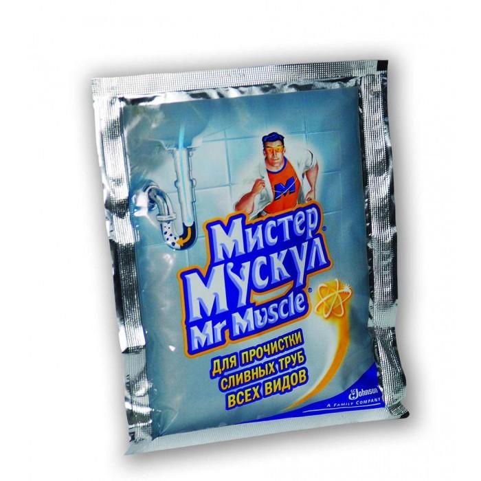 Бытовая химия Mr Muscle Гранулированное для всех видов сливных труб 70 г