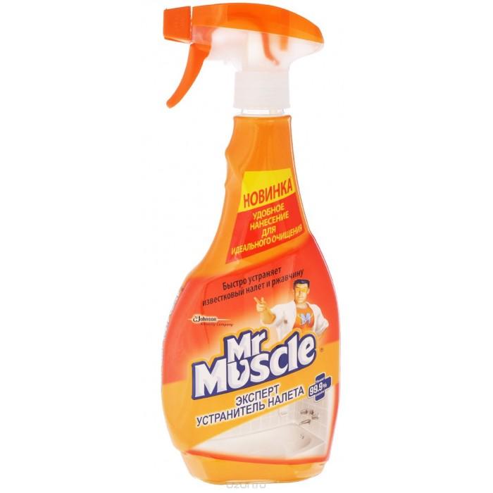 Бытовая химия Mr Muscle Устранитель налета для удаления известкового налета и ржавчины курок 500 мл