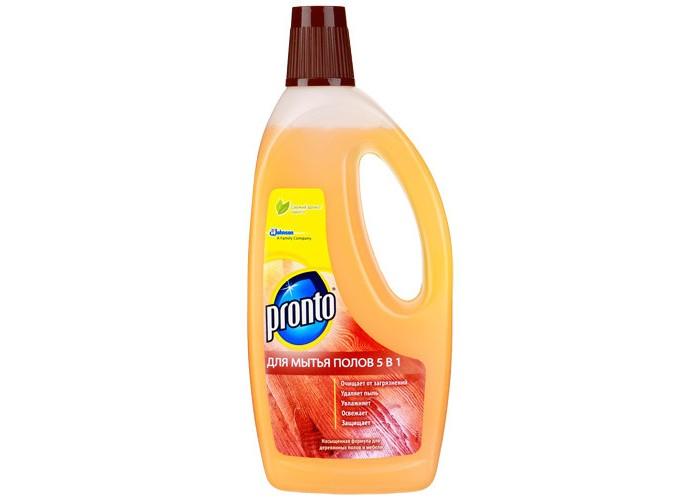 Бытовая химия Pronto Средство для мытья полов 750 мл средство для мытья посуды trio пшеница 750 мл