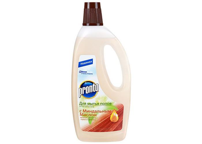 Бытовая химия Pronto Средство для мытья полов c миндальным маслом 750 мл машина для строжки деревянных полов со 306 1