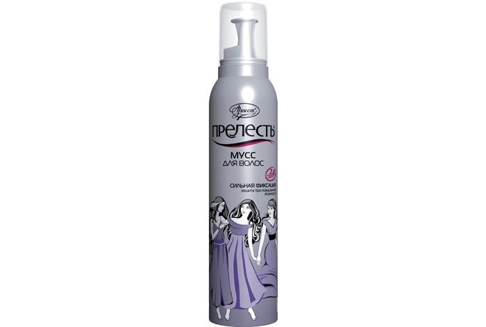 Косметика для мамы Прелесть Классик Мусс для волос 160 см3 барекс косметика для волос