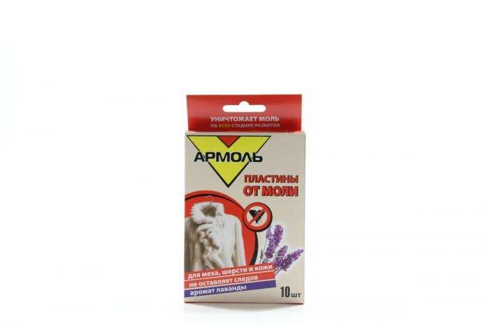 Средства от насекомых Армоль Пластины от моли 10 шт. от моли
