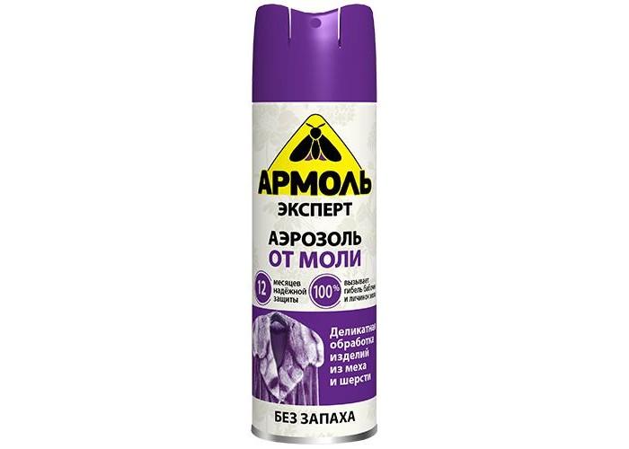 Средства от насекомых Армоль Эксперт Аэрозоль от моли 190 см3 от моли
