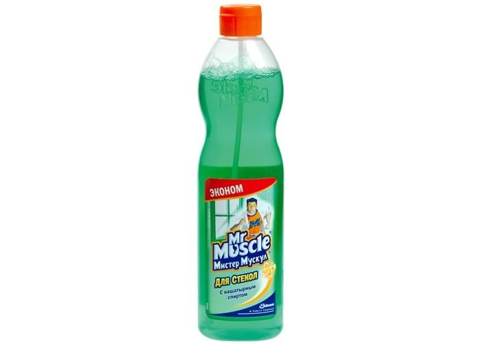 Бытовая химия Mr Muscle Зеленый эконом для стекол с нашатырным спиртом 500 мл бытовая химия xaax ополаскиватель для посудомоечной машины 500 мл
