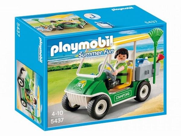 Конструкторы Playmobil Каникулы: Машинка для обслуживания кемпинга playmobil веселые каникулы