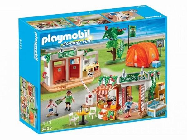 Конструктор Playmobil Каникулы: Большой кемпингКаникулы: Большой кемпингБольшой кэмпинг от Playmobil — это совершенно потрясающий игровой набор с элементами конструктора, котрый расскажет о веселом путешествии. Здесь вы найдете и душевую кабинку с работающей помпой для подачи воды. Кафе оснащено всем необходимым, чтобы перекусить в погожий летний день. Ну и какой же отдых на природе обходится без палатки!   Палатка из набора Большой кэмпинг выполнена из текстиля, она складывается, что придает игре большую реалистичность. Также в наборе есть огромное количество аксессуаров, таких как мебель, продукты питания.   Посуда, животные и другие, которые дадут ребенку представление о семейном отдыхе. В комплект входит три фигурки человечков — двое взрослых, один ребенок.  Игрушки Плеймобил очень функциональны. У фигурок подвижны ноги, руки и голова, у строений открываются двери и окна.   Мебель можно переставлять по своему вкусу.   Все наборы немецкого производителя прекрасно сочетаются друг с другом, поэтому со временем вы сможете создать в комнате ребенка целый мир со своими персонажами и историями.   ост взрослого человечка составляет 7,5 см, а ребенка 5 см<br>
