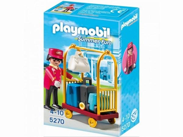 Конструкторы Playmobil Отель: Носильщик с чемоданами playmobil 5266 отель детский клуб с танц площадкой