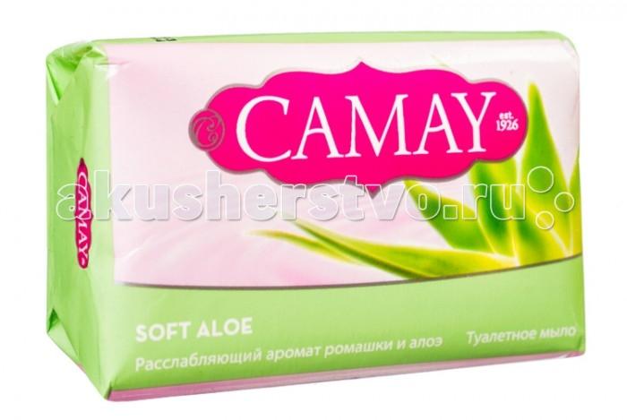 Косметика для мамы Camay Мыло твердое Нежное алое 85 г camay 1l