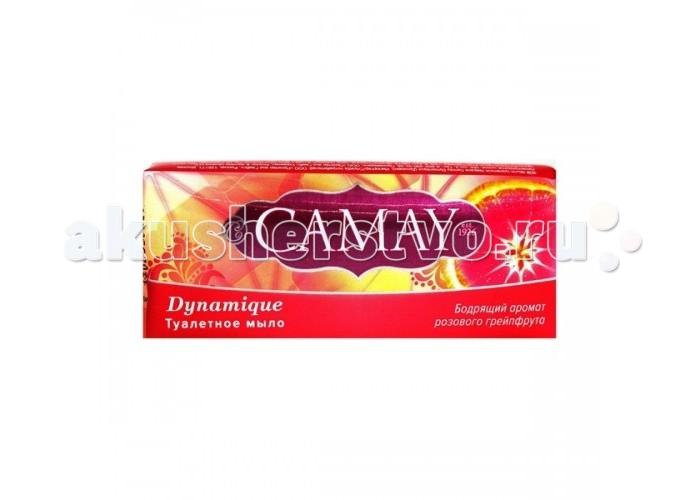 Косметика для мамы Camay Мыло туалетное Динамик 85 г косметика для мамы camay дезодорант антиперспирант стик динамик 40 мл