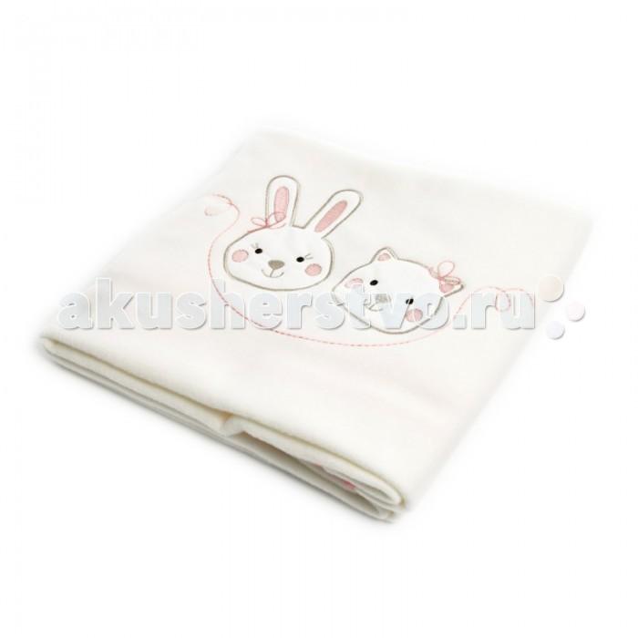 Пледы Fiorellino Lily Milly 75х110 см подушки для малыша fiorellino подушка lily milly 40х40 см