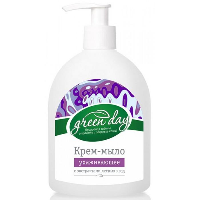 Косметика для мамы GreenDay Жидкое мыло Лесные ягоды 350 мл dolce milk жидкое мыло молоко и лесные ягоды 300 мл