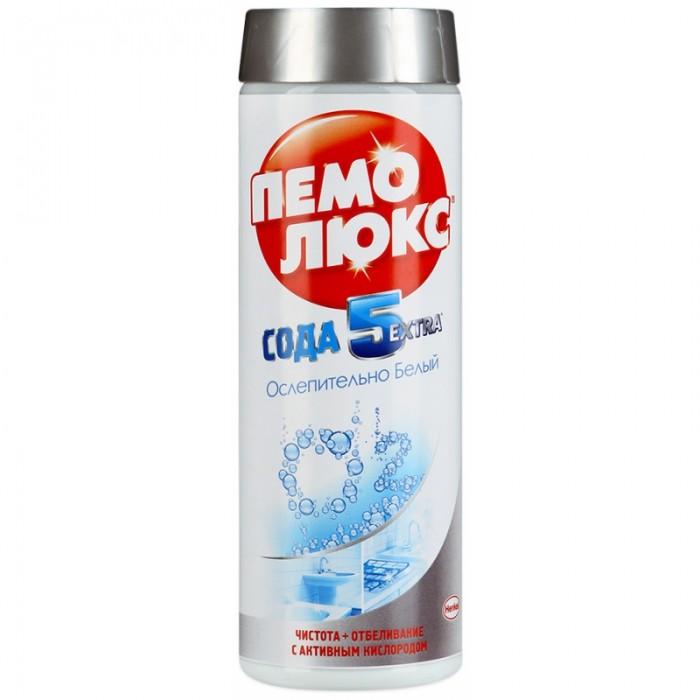 Бытовая химия Пемолюкс Чистящий порошок Сода 5 Ослепительно белый 400 г бытовая химия biolane чистящий порошок антижир 400 г
