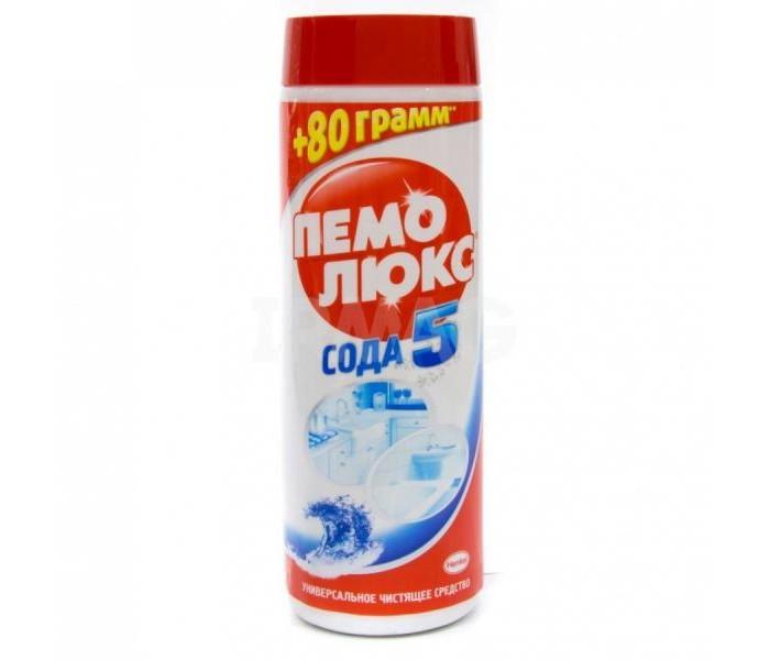 Бытовая химия Пемолюкс Чистящий порошок Сода 5 Extra Морской бриз 480 г бытовая химия biolane чистящий порошок антижир 400 г