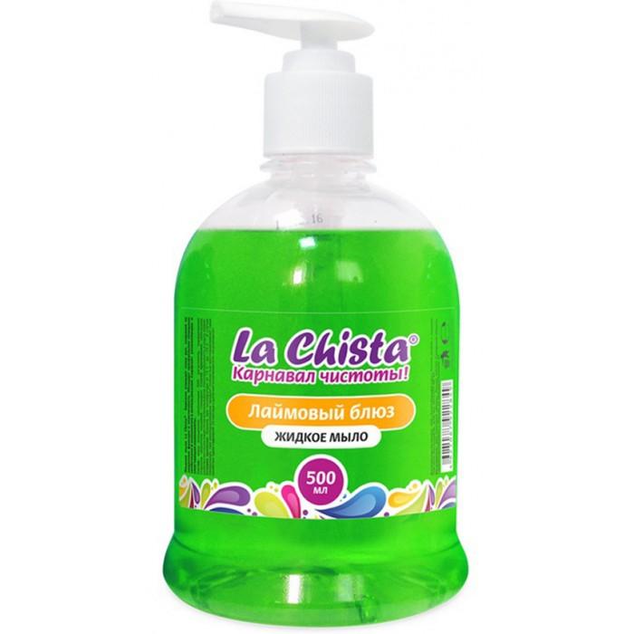 Бытовая химия La Chista Жидкое мыло Лаймовый блюз 500 мл жидкое мыло florame florame мыло жидкое миндаль 500 мл