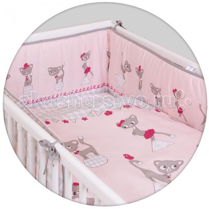 Постельное белье Ceba Baby Cats pink Lux с принтом (3 предмета)Cats pink Lux с принтом (3 предмета)Постельное белье Ceba Baby Cats pink Lux с принтом (3 предмета) отвечает самым высоким стандартам качества.  Особенности: комплект постельного белья для детской кроватки ткань: 100% хлопок комплект украшен красочным принтом все используемые материалы сертифицированы в соответствии с Oeko-Tex® 100, класс I (текстильные изделия для детей).   В комплект входят:  пододеяльник 100х135 см наволочка 40х60 см мягкий бортик 200х32 см.<br>
