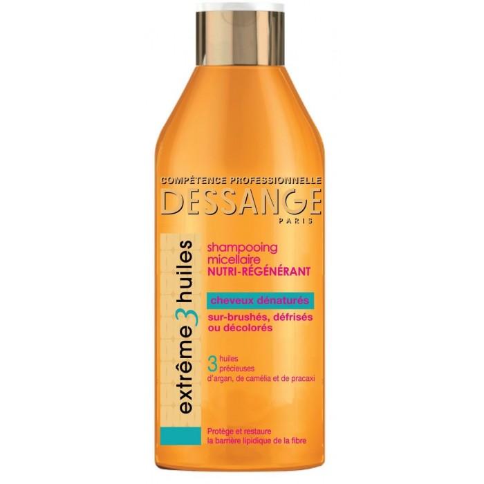 L'oreal Jacques Dessange Шампунь для волос 3 Масла 250 мл