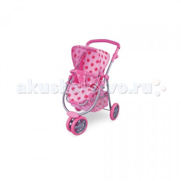 кукольная коляска трость 35 5 24 5 52 см fei li toys Коляски для кукол Fei Li Toys FL8180-1