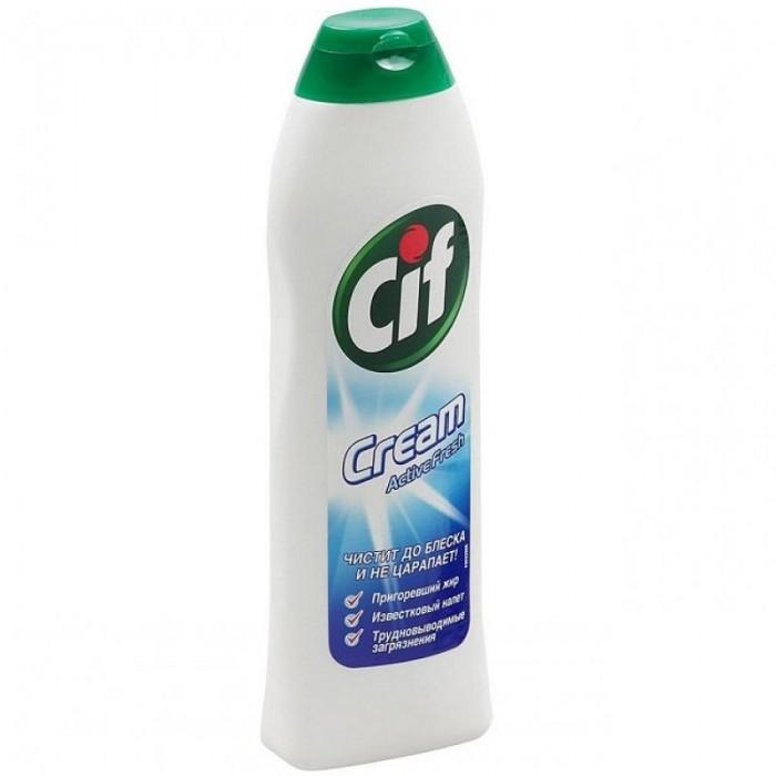 Бытовая химия Cif Чистящий крем Актив Фреш 250 мл