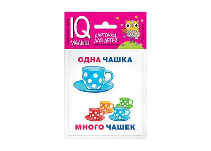 Раннее развитие Айрис-пресс Умный малыш Один-много Набор карточек для детей раннее развитие айрис пресс матем 3 лисята счет в пределах 100 набор карточек