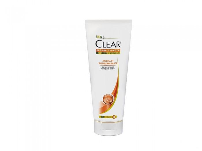 Косметика для мамы Clear Бальзам-ополаскиватель для женщин защита от выпадения волос 180 мл