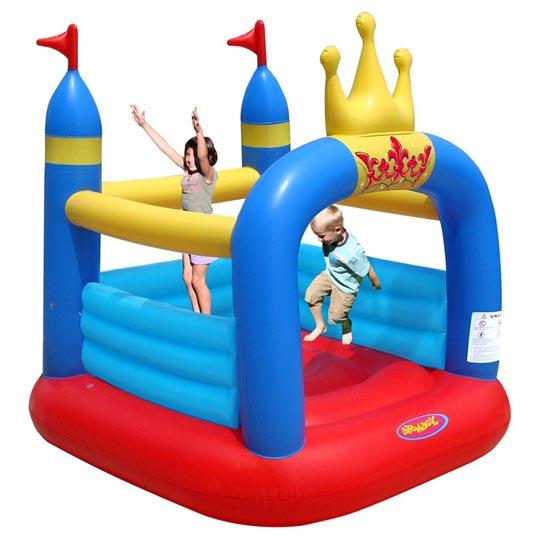Надувные батуты Happy Hop Airmagic Надувной батут Замок 8303 детский батут мини замок 4 в 1 9114 happy hop