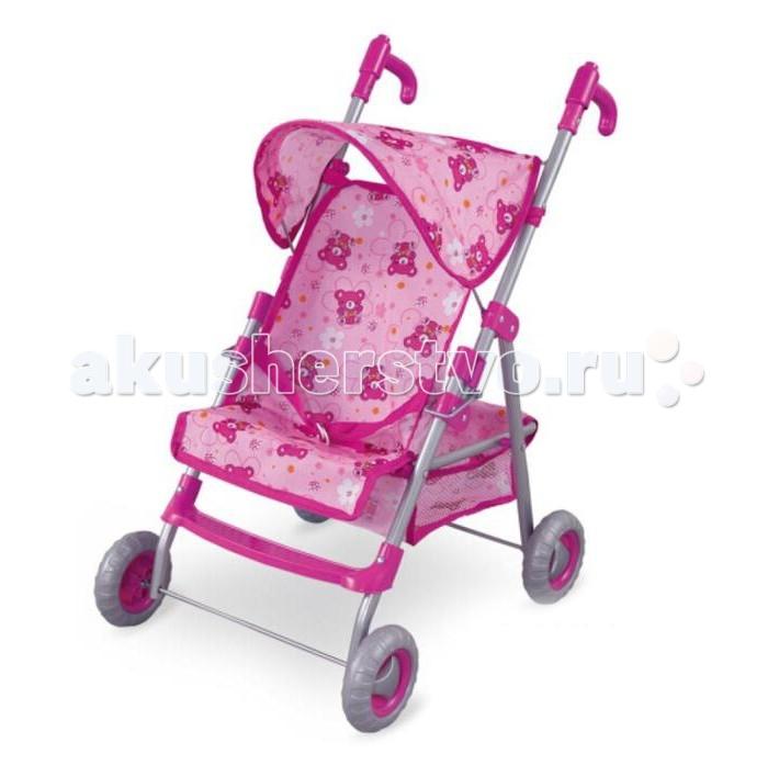 Коляска для куклы Fei Li Toys FL8160-1FL8160-1Fei Li Toys Кукольная коляска FL8160-1  Яркий дизайн и легкое использование сделают игру с куколкой еще интереснее.  Характеристики: Яркая, красивая расцветка Коляска выполнена из качественной ткани Съемный чехол, можно стирать Защитный козырек Колеса пластиковые Удобная ручка для ребенка Удобно и компактно складывается  Размер: 53x49x79 см<br>