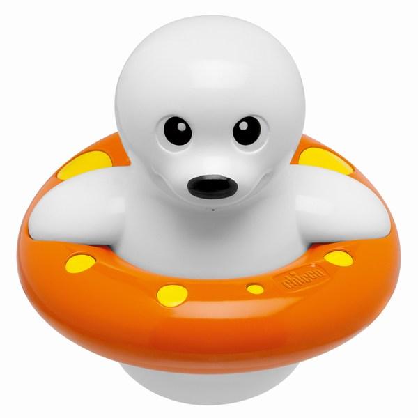 Игрушки для ванны Chicco Морской котик игрушки для ванны tolo toys набор ведерок квадратные