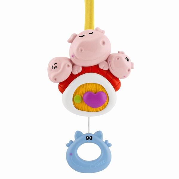 Подвесные игрушки Chicco для кроватки 3 поросенка