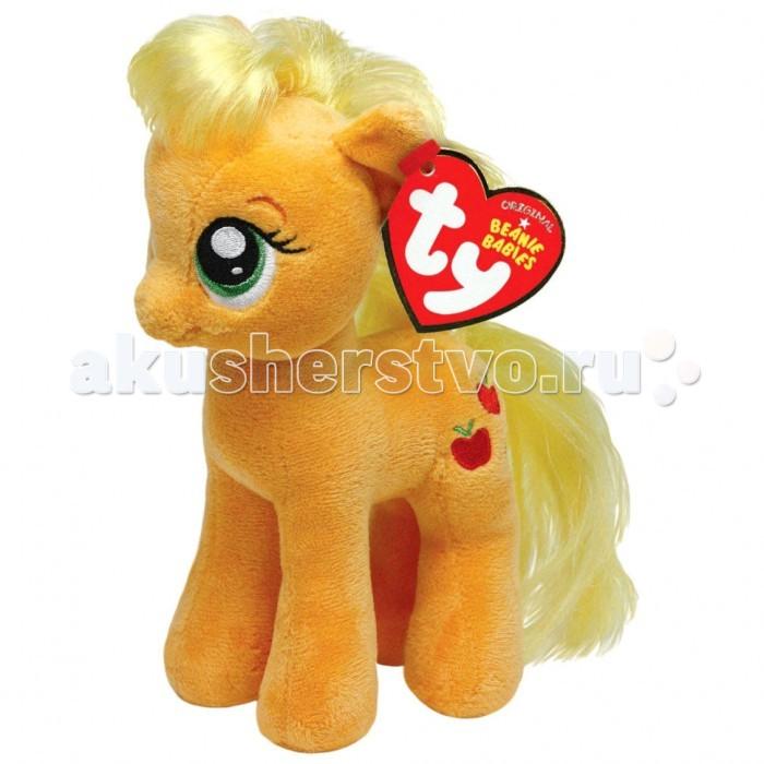 Мягкие игрушки Май Литл Пони (My Little Pony) Пони Apple Jack 20 cм пазл color майл литл пони 20 элементов
