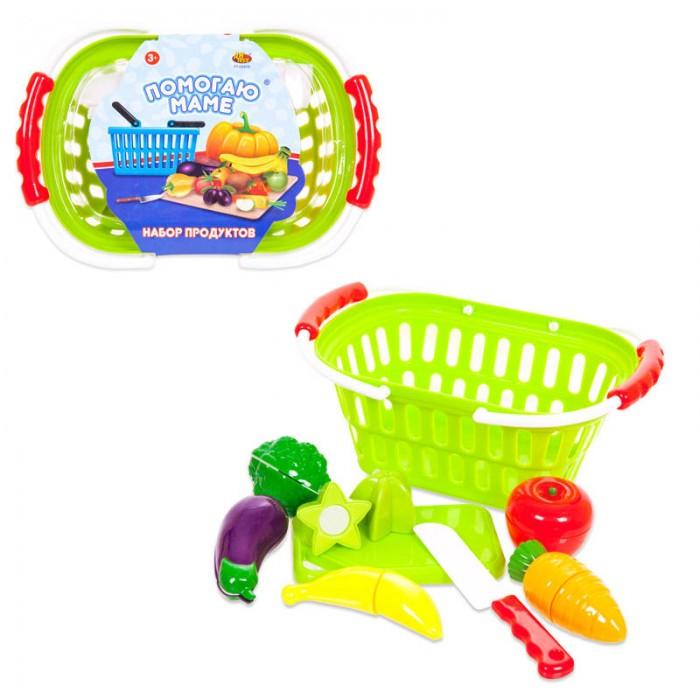 Ролевые игры ABtoys Помогаю Маме Набор продуктов для резки на липучках 15 предметов игровой набор abtoys помогаю маме с посудой и продуктами 8 пр