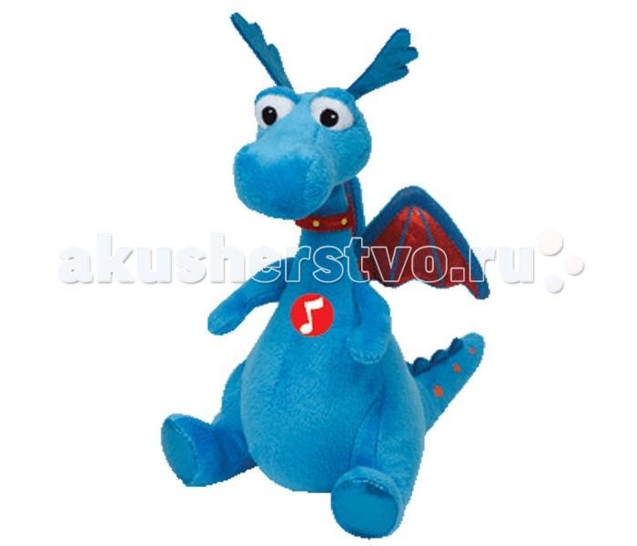 Мягкие игрушки Disney Beanie Babies Дракон Stuffy 17 см мягкая игрушка герой мультфильма disney стаффи плюш голубой 20 см
