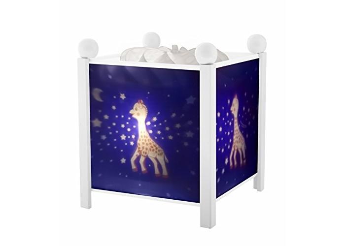 Детская мебель , Ночники Trousselier Светильник-ночник в форме куба Sophie the giraffe Milky Way арт: 269532 -  Ночники