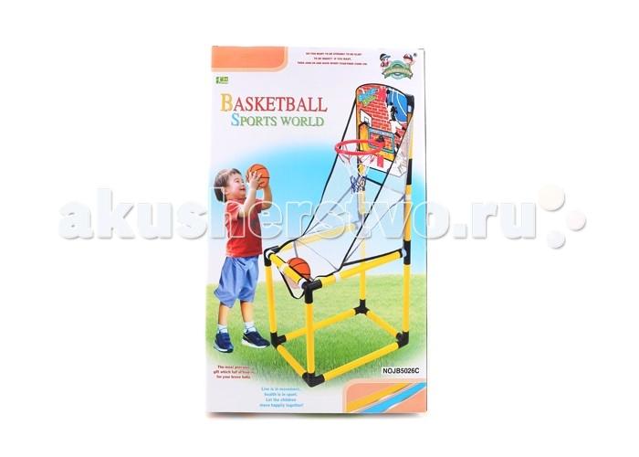 1 Toy Набор Баскетбольная стойкаНабор Баскетбольная стойка1toy Набор Баскетбольная стойка  Удобный размер щита и кольца и возможность передвижения еще больше привлекут внимание как детей, так и родителей.   Играть в баскетбол можно установив стойку во дворе дома или же на даче, она легко собирается и разбирается.<br>