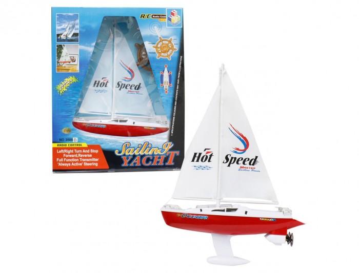 Электронные игрушки 1 Toy Яхта с парусом на р/у 38 см игрушка на радиоуправлении яхта с парусом