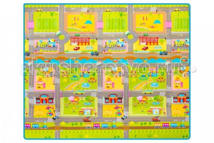 Игровой коврик Parklon Складной Дороги Multi-Purpose 180x200x0.4 смСкладной Дороги Multi-Purpose 180x200x0.4 смParklon Складной коврик Дороги Multi-Purpose 180x200x0.4 см  Детский коврик Дороги малыши обожают за безграничные возможности для игр. Можно устраивать состязания автомобильчиков, строить волшебные города, водить кукол друг к другу в гости. Взрослым напольный коврик нравится внешним видом, компактностью, безопасностью. Небольшой размер (180x200 см) позволяет брать покрытие с собой в поездки. Коврик для игр изготавливается из полиэтилена (PE), известного гипоаллергенностью и легкостью ухода. Чтобы почистить коврик, его достаточно протереть влажной тряпкой. Если на него прольется жидкость, можно не переживать: коврик не промокает, высыхает быстро.<br>