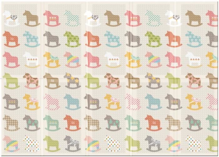 Игровой коврик Parklon Портативный Деревянные лошадки Portable 140x200x1 см