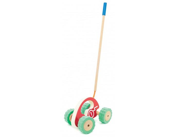 Каталки-игрушки Мир деревянных игрушек Ролли Каталка-машина мир деревянных игрушек пирамидка каталка рожицы
