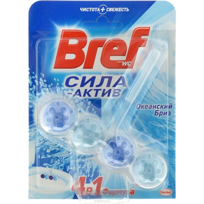 Бытовая химия Bref Сила-Актив Освежитель для туалета Океанский бриз 50 г ароматизатор 5000 рублей океанский бриз