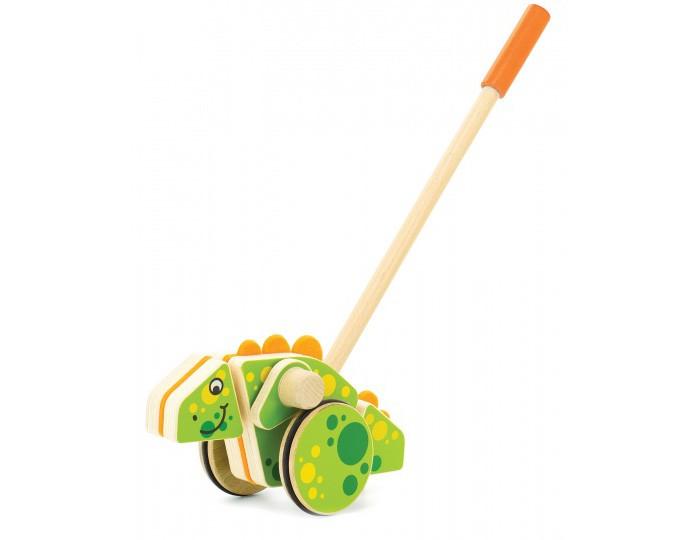 Каталка-игрушка Мир деревянных игрушек (МДИ) Динозавр