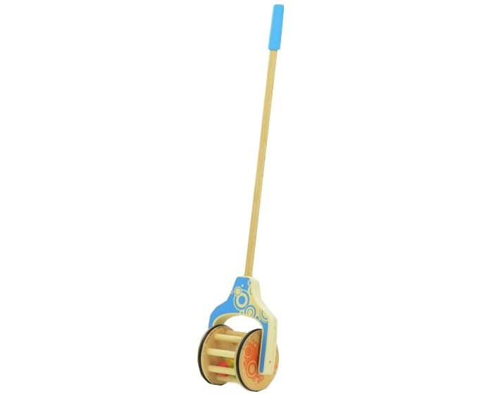 Каталки-игрушки Мир деревянных игрушек Шарики мир деревянных игрушек пирамидка каталка рожицы
