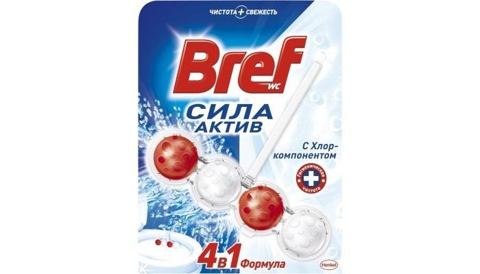 Бытовая химия Bref Сила-Актив Чистящее средство Хлор 50 г чистящее средство litonet купить спб