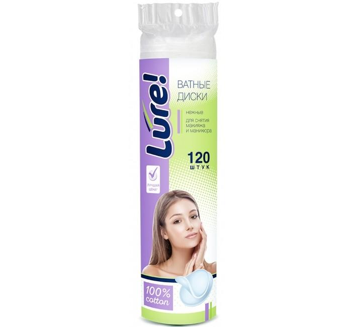 Гигиена для мамы Lure Ватные диски 120 шт.