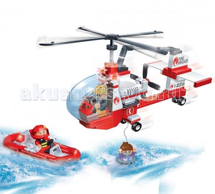 Конструкторы BanBao Спасательный вертолет 150 элементов конструкторы banbao замок 550 деталей
