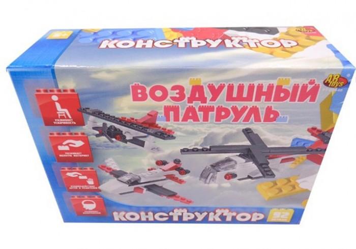 Конструкторы ABtoys Воздушный патруль 3 в 1 92 элемента