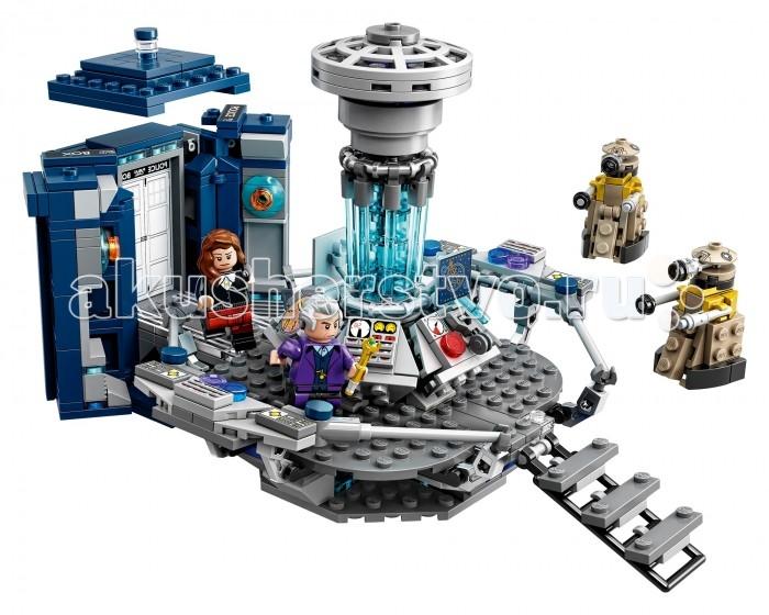 Конструктор Lego Ideas Доктор КтоIdeas Доктор КтоКонструктор Lego Ideas Доктор Кто   «Доктор Кто» - британский научно-фантастический телесериал компании «Би-би-си» об инопланетном путешественнике во времени, известном как Доктор. Вместе со своими спутниками он путешествует во времени и пространстве как для спасения целых цивилизаций или отдельных людей, так и для собственного удовольствия. (Википедия)  Особенности: Включает в себя 4 минифигурки с различными аксессуарами: Одиннадцатый Доктор, Двенадцатый Доктор, Клара Освальд,  плачущий ангел, а также 2 далека.    Оргинальная раскрывающаяся Тардис, внутренняя комната с раздвижными стенами и  панелью управления, которая  включает в себя оригинальные детали с изображениями. Доктор помещается внутрь закрытой Тардис. Набор отлично подходит для отображения  ролевых сцен из сериала     Помимо инструкции по сборке, в коробке Вы найдёте специальный буклет, в котором рассказывается о дизайнере набора и об истории легендарного сериала.     Данный набор будет идеальным подарком, как для любителей Lego, так и для фанатов сериала      Размеры набора: Размеры Тардис: 11 см в высоту, 6 см в ширину и 6 см в длину Размеры внутреннего помещения:  14 см в высоту, 16 см в ширину и 21 см в длину Общие размеры собранного набора: 14 см в высоту, 16 см в ширину и 23 см в длину<br>
