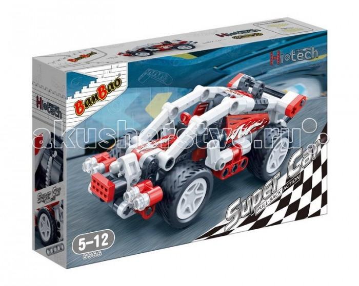 Конструкторы BanBao Гоночная машина 138 элементов конструкторы banbao замок 550 деталей