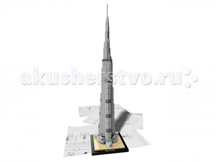 Конструктор Lego Architecture Бурдж-ХалифаArchitecture Бурдж-ХалифаКонструктор Lego Architecture Бурдж-Халифа - это визитная карточка Дубая, основная достопримечательность Эмиратов, объект массового паломничества туристов и гордость архитектурной мысли Ближнего Востока  Башня Бурдж Халифа, пик которой возвышается более чем на 100 метров от поверхности земли. Сегодня Лего предлагает создать уникальное строение своими руками и пополнить коллекцию мировых шедевров. Если вы терпеливы и нацелены на отличный результат, конструктор Лего Бурдж Халифа станет отличным подарком, который надолго займет ваше время.  Разработчики конструктора решили пойти сложным путем и предлагают вам для сборки 330 деталей. Но не пугайтесь: наглядная инструкция поможет разобраться и быстро сложить масштабное сооружение. Друзья и родители будут в восторге!<br>